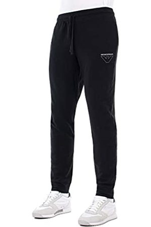 Emporio Armani Men's Homewear-Thin Eagle Trousers Sports