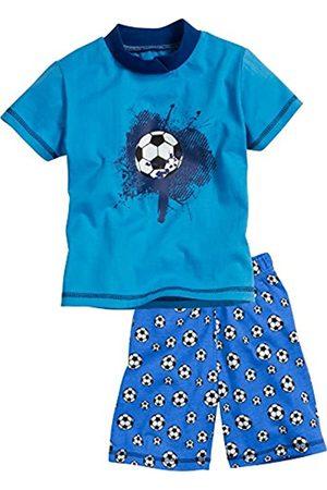 Playshoes Boy's Schlafanzug Shorty Single-Jersey Fußball Pyjama Sets