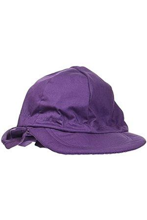 Melton Baby_Girl's Sommerhut mit Schirm und Nackenschutz UV 30+, uni Cap