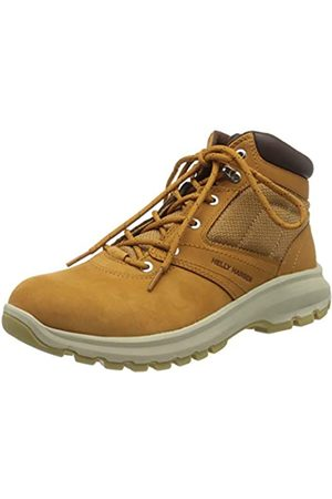 Helly-Hansen Helly Hansen Men's Montreal V2 Waterproof Leather Winter Boot with Grip, New Wheat/Coffee Bean/Natural
