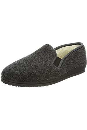 Beck Men's Johann Open Back Slippers, (Anthrazit 36)