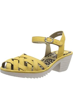 Fly London Women's WUZY001FLY Closed Toe Sandals, (Bumblebee (Offwhite) 006)
