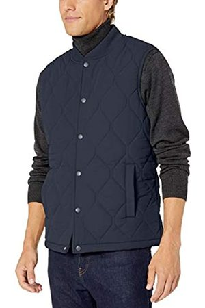 Goodthreads Quilted Liner Vest Down Navy