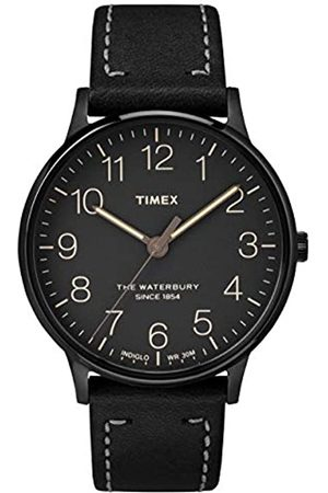 Timex Mens Analogue Classic Quartz Watch with Leather Strap TW2P95900