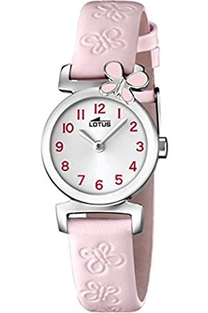 Lotus Girls Analogue Quartz Watch with Leather Strap 15948/2
