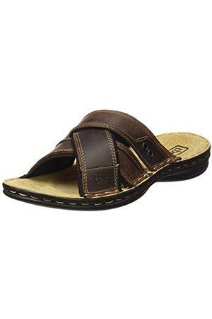 TBS Men's Benaix Open Toe Sandals, (Marron H8005)
