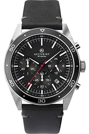 Accurist Mens Chronograph Quartz Watch with Leather Strap 7273