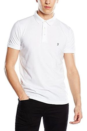 French Connection Men's Basic Sneezy Polo T-Shirt