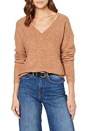 ONLY Women's Onlmirna L/s V-Neck Pullover KNT Jumper