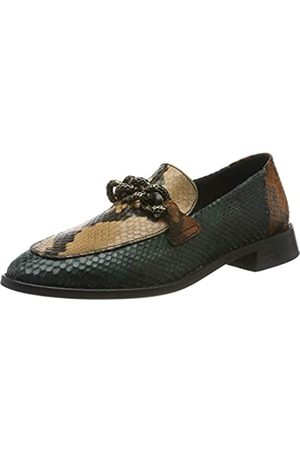 SCOTCH & SODA FOOTWEAR Women's LOEL Moccasins, (mid +Snake bro.Optics S715)