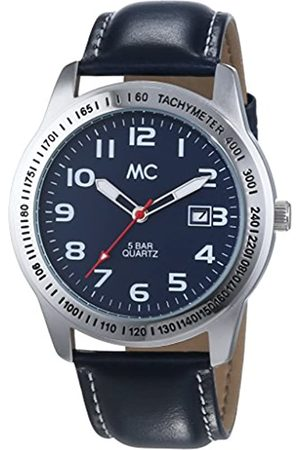 MC Timetrend Men's Watch Analogue XL Leather 27664 Quartz