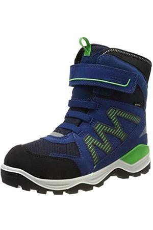 ECCO Boys' Snow Mountain Boots, ( /Poseidon/Poseidon 50100)