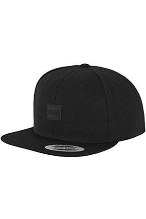 Urban classics Leatherpatch Snapback Flat Cap