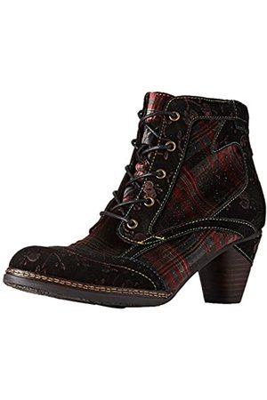 LAURA VITA Women's Alcizeeo 01 Ankle Boots, (Wine Wine)