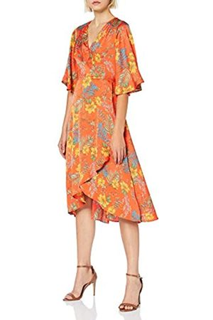 Liquorish Women's Floral Midi Wrap Dress Skirt