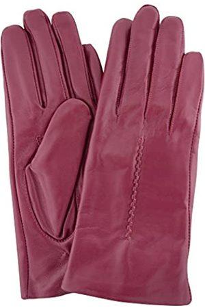 "SNUGRUGS Womens Butter Soft Premium Leather Glove with Woven Stich Design & Warm Fleece Linning - - Medium (7"")"