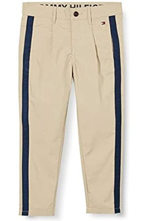Tommy Hilfiger Boy's TH Cool Pleated Chino Tape Pants Trousers