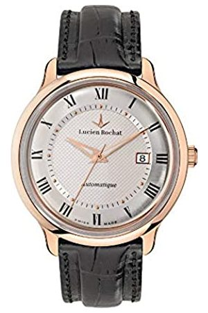 LUCIEN ROCHAT Mens Analogue Automatic Watch with Leather Strap R0421106005