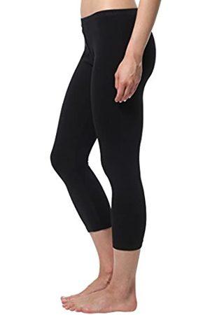 Berydale Women's Capri Leggings, matte, 100 DEN