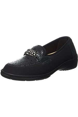 PodoWell Unisex Adults Magik Loafers, (Schwarz 7130010-42)