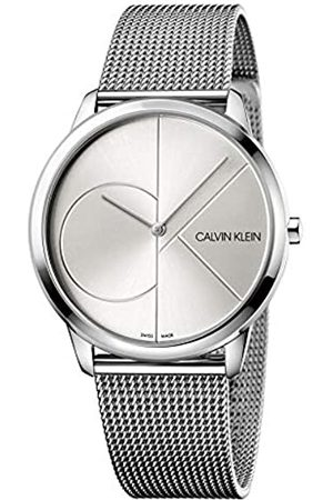 Calvin Klein Men's Analogue Quartz Watch with Stainless Steel Strap K3M2112Z