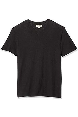 Goodthreads Men's Linen Cotton V-Neck T-Shirt