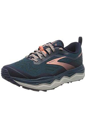 Brooks Women's Caldera 4 Running Shoe, /Peacoat/Desert Flower