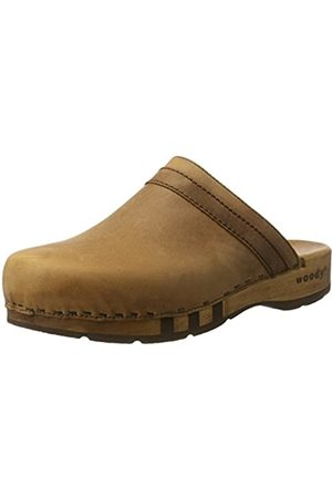 Woody Men's Harry Clogs, (Tabacco)