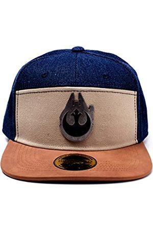 Bioworld Star Wars Han Solo Millennium Falcon Metal Badge Denim Snapback Baseball Cap