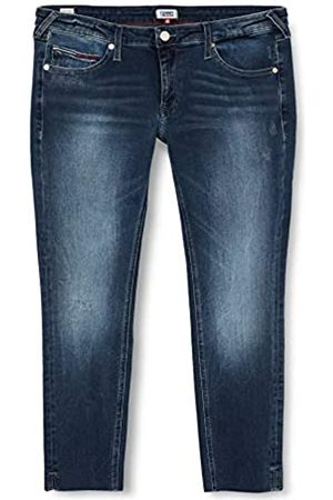 Tommy Jeans Women's Sophie Low Rise SKNY Ankle DLYDK Straight Jeans