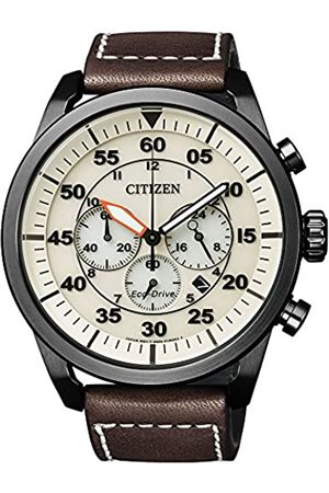 Citizen Men's Watch Chronograph XL Quartz Leather CA4215-04W