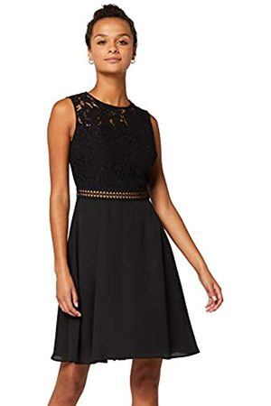 TRUTH & FABLE Amazon Brand - Women's Mini Lace A-Line Dress, 18