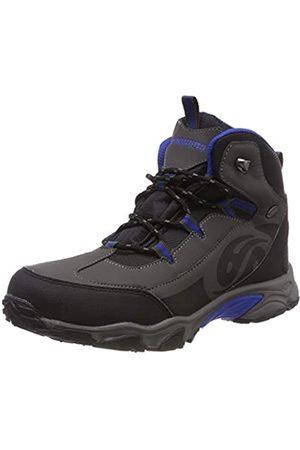Dockers by Gerli Unisex Kids' 43wr703 High Rise Hiking Shoes, (Schwarz/Dunkelgrau 122)