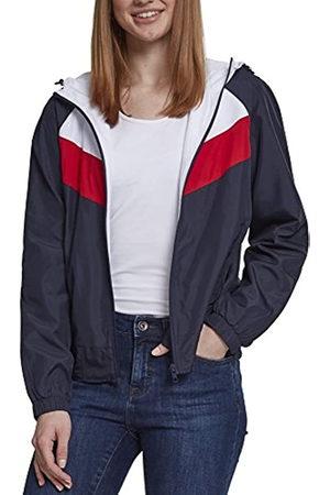 Urban classics Women's Ladies 3-Tone Windbreaker Jacket