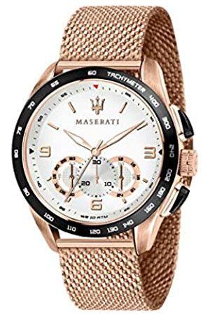 Maserati Men's Watch, Traguardo Collection, Quartz Movement, with Chronograph