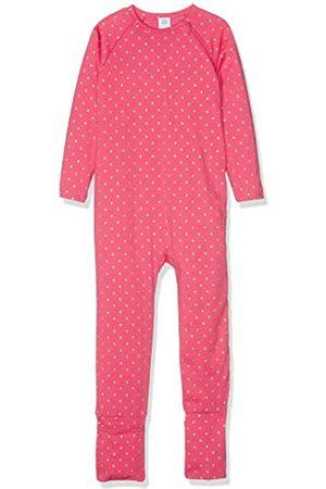 Sanetta Baby Girls' Overall Long Sleepsuit, (Melon)