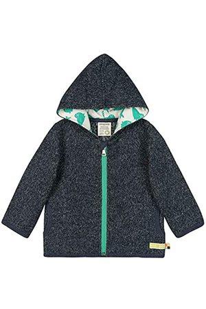 loud + proud Baby Jacke in Melange Strick Aus Bio Baumwolle, GOTS Zertifiziert Sweat Jacket