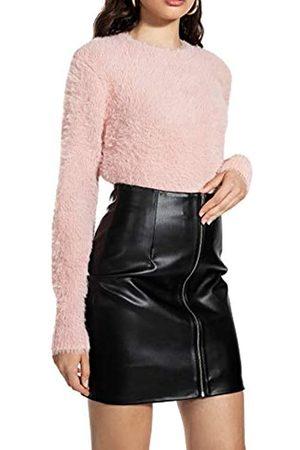 Ivy Revel DE Women's Fuzzy Knit Jumper