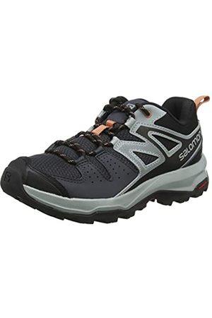 Salomon Women's Hiking Shoes, X Radiant W, Ebony/Quarry/Tawny Orange