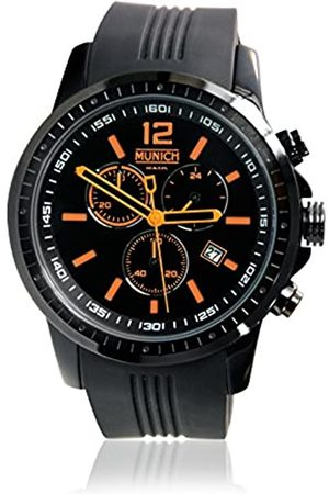 Munich Unisex Adult Analogue Quartz Watch with Silicone Strap MU+102.5A