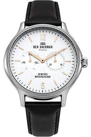 Ben Sherman Mens Analogue Classic Quartz Watch with Leather Strap WB017B