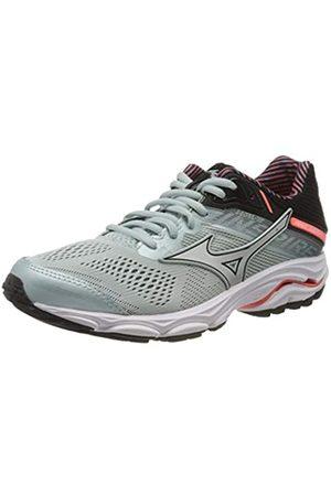 Mizuno Women's Wave Inspire 15 Stabilitätsschuh Damen-Mint, Schwarz Running Stability Shoe, Angel /Lavender Frost/