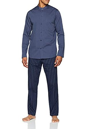 Seidensticker Men's Chambray Pyjama Lang Sets