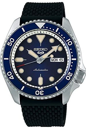 Seiko Men's Analogue Automatic Watch with Silicone Strap SRPD71K2