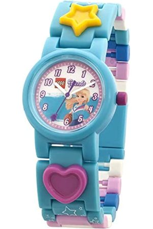 LEGO Wear Girls Analogue Classic Quartz Watch with Plastic Strap 8021254