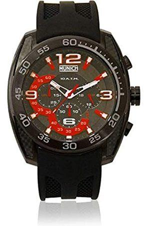 Munich Unisex Adult Analogue Quartz Watch with Rubber Strap MU+131.1A