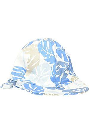 Melton Baby Boys' Sonnenkappe mit Nackenschutz UV30+, Gemustert Cap