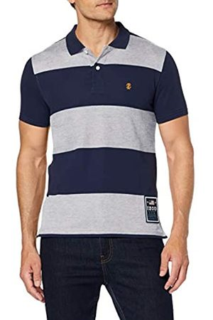 Izod Men's Rugby Stripe Performance Polo Shirt