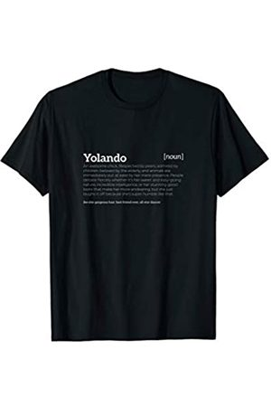 Ann Arbor T-shirt Co Yolando is an Awesome Chick | Funny Compliment T-shirt