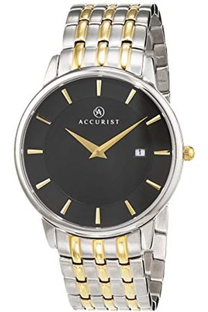 Accurist Mens Analogue Classic Quartz Watch with Stainless Steel Strap 7261